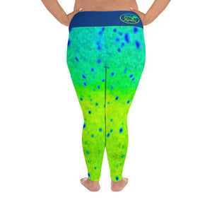 Mahi Print Plus Size Leggings