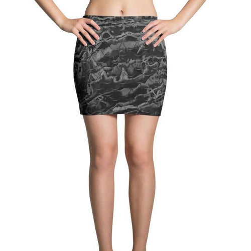 Grey Mermaflage Mini Skirt - Island Mermaid Tribe