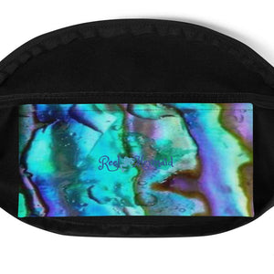 Abalone Print Fanny Pack