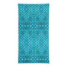 Load image into Gallery viewer, Mermaid Teals Neck Gaiter