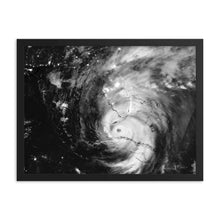 Load image into Gallery viewer, Hurricane Irma Framed poster