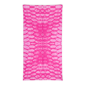 Pink Scale Neck Gaiter/Buff/Scarf/Mask