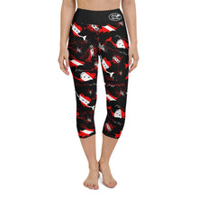 Load image into Gallery viewer, Dive Mermaid Yoga Capri Leggings