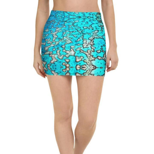 Barrier Reef Mini Skirt - Island Mermaid Tribe