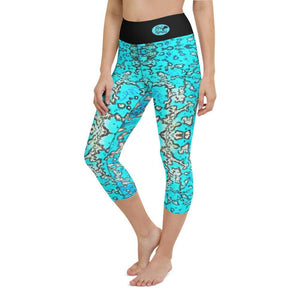 Barrier Reef Yoga Capri Leggings