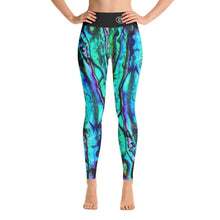 Load image into Gallery viewer, Abalone Yoga Leggings - Island Mermaid Tribe