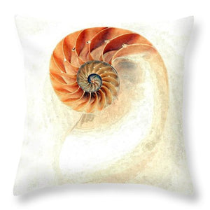 Nautilus - Throw Pillow