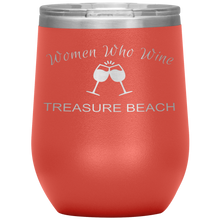Load image into Gallery viewer, Women Who Wine _ Treasure Beach - Island Mermaid Tribe
