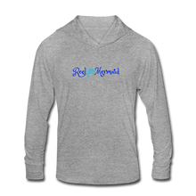 Load image into Gallery viewer, Reel Mermaid Mahi Unisex Tri-Blend Hoodie Shirt - heather gray