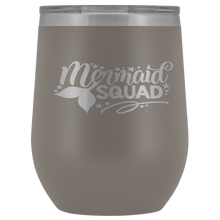 Load image into Gallery viewer, Mermaid Squad Wine Tumbler