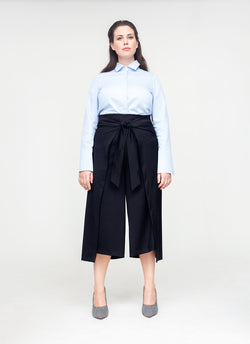 Wool Thai Wrap Pants
