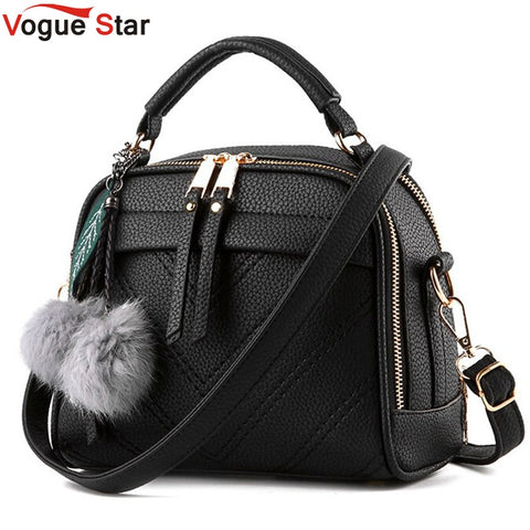 Vogue Star 2018 New Multi-Function Women Leather Handbag Casual Women Messenger Bag Luxury Women Shoulder Bag Female Tote  LS351
