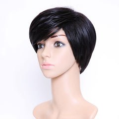 SHANGKE Hair Short Synthetic Wigs For  Women Short  Wig Women Heat Resistant Fiber Female Wig Natural Fake Hair