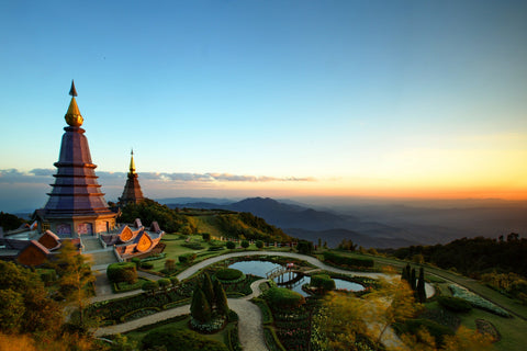 Great Pagoda of Doi Inthanon - Thailand - Terbos Jewellery
