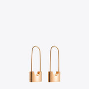 Rose Gold Freedom Earrings