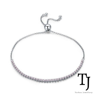 Maria Sharapova Adjustable Bracelet - Pink
