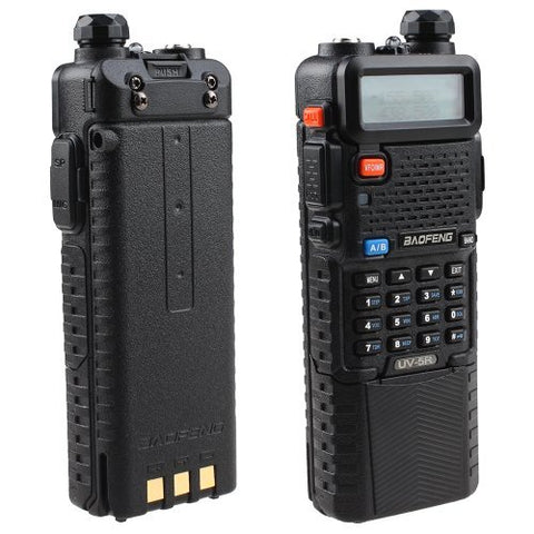 Baofeng UV-5R Dual Band UHF/VHF Radio Transceiver W/Upgrade Version 3800mah Battery Built-in VOX Function