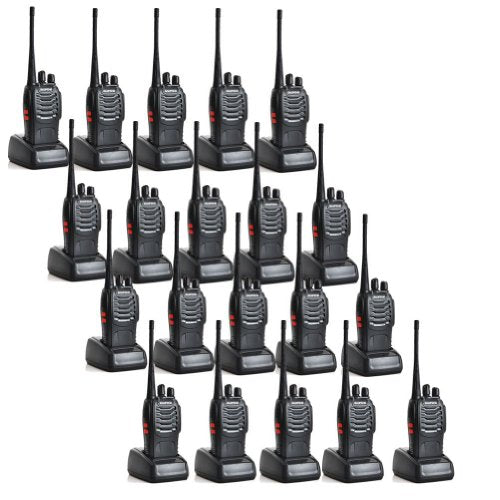 BaoFeng BF-888S Two Way Radio Outdoor Walkie Talkie for