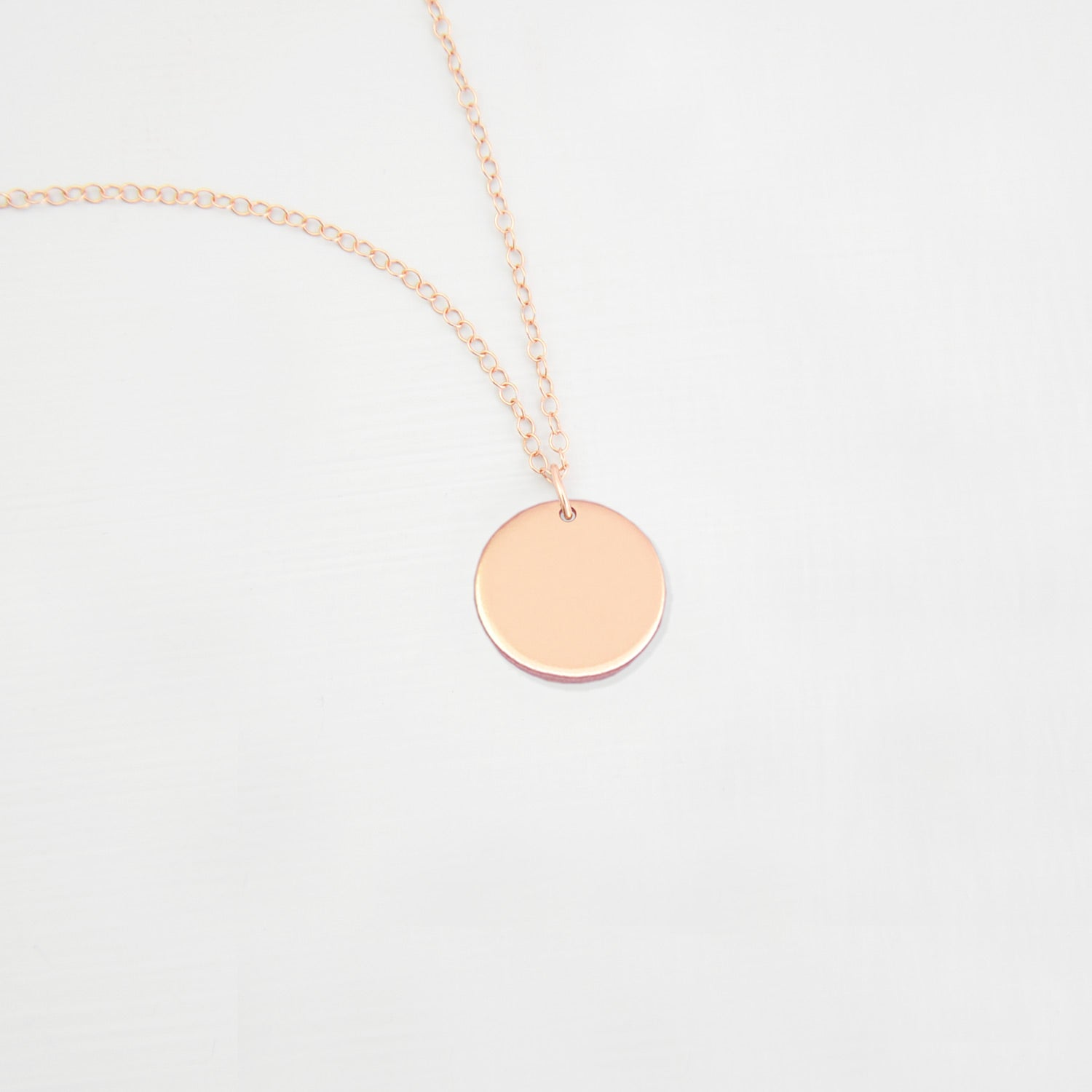 Medium Disc Necklace 'Miri'