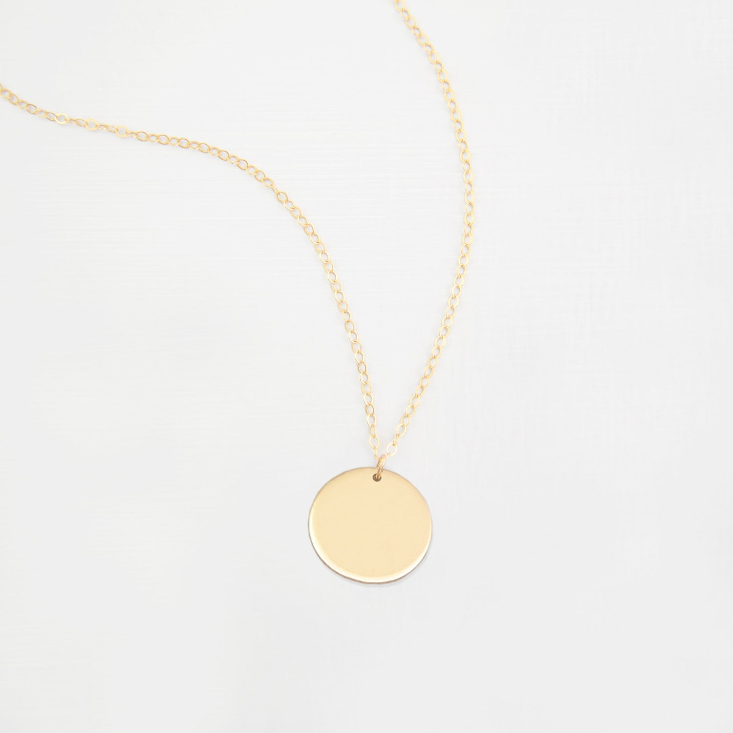 Large Disc Necklace 'Marni'