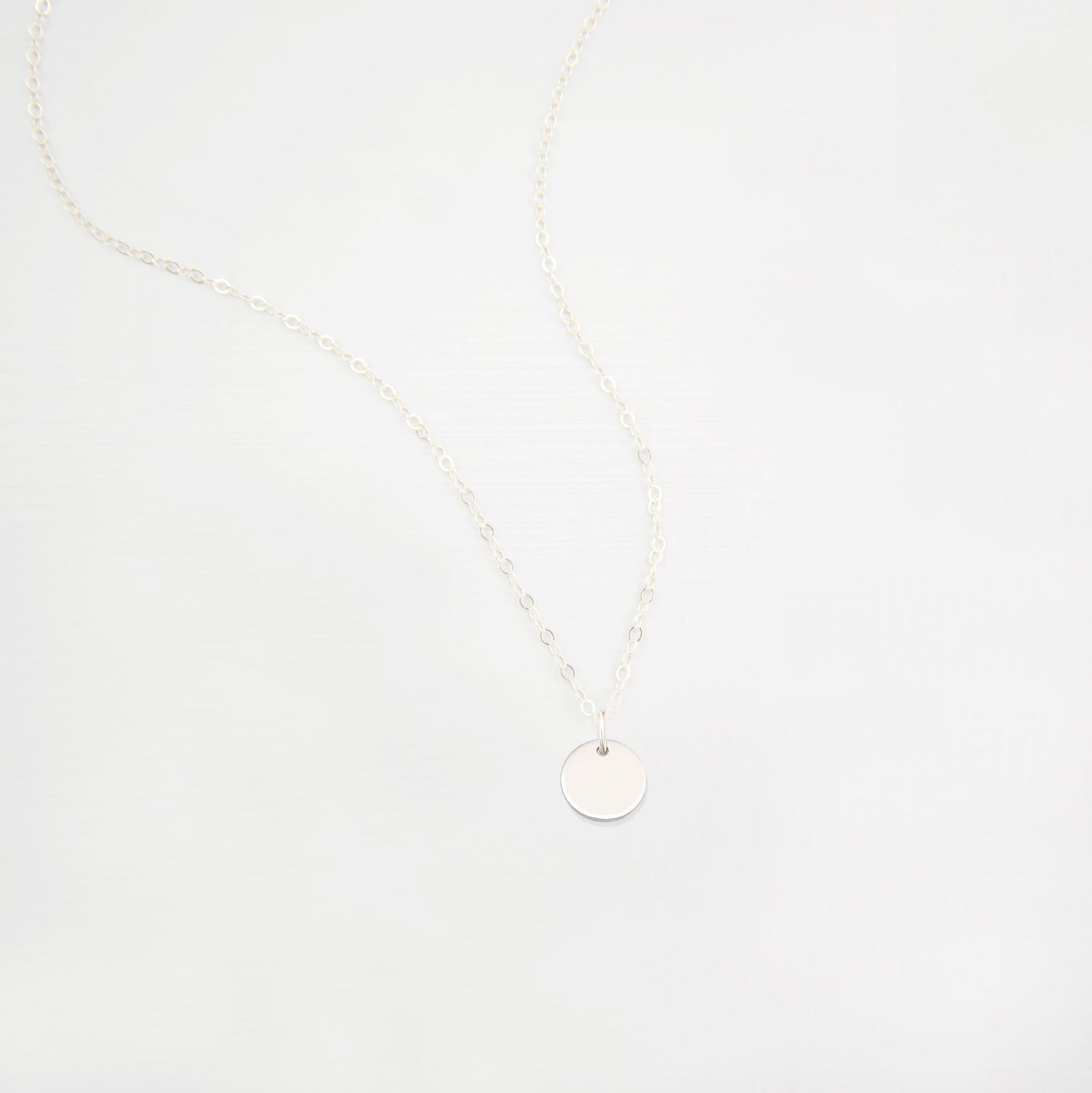 Small Disc Necklace 'Frida'