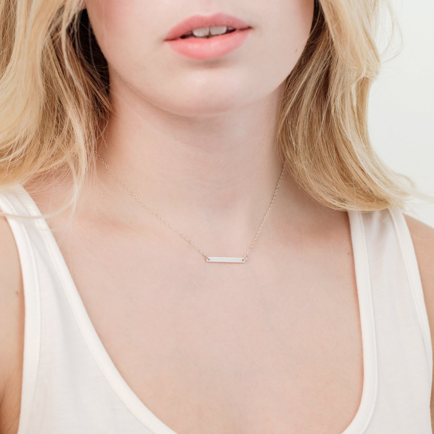 Bar Necklace 'Aria'