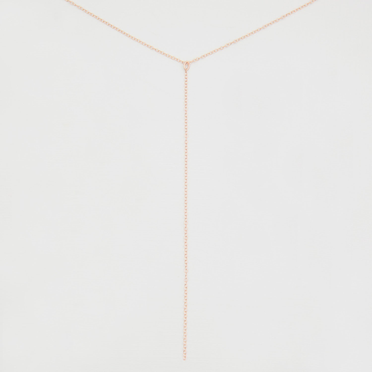 Y Lariat Necklace 'Kaia'