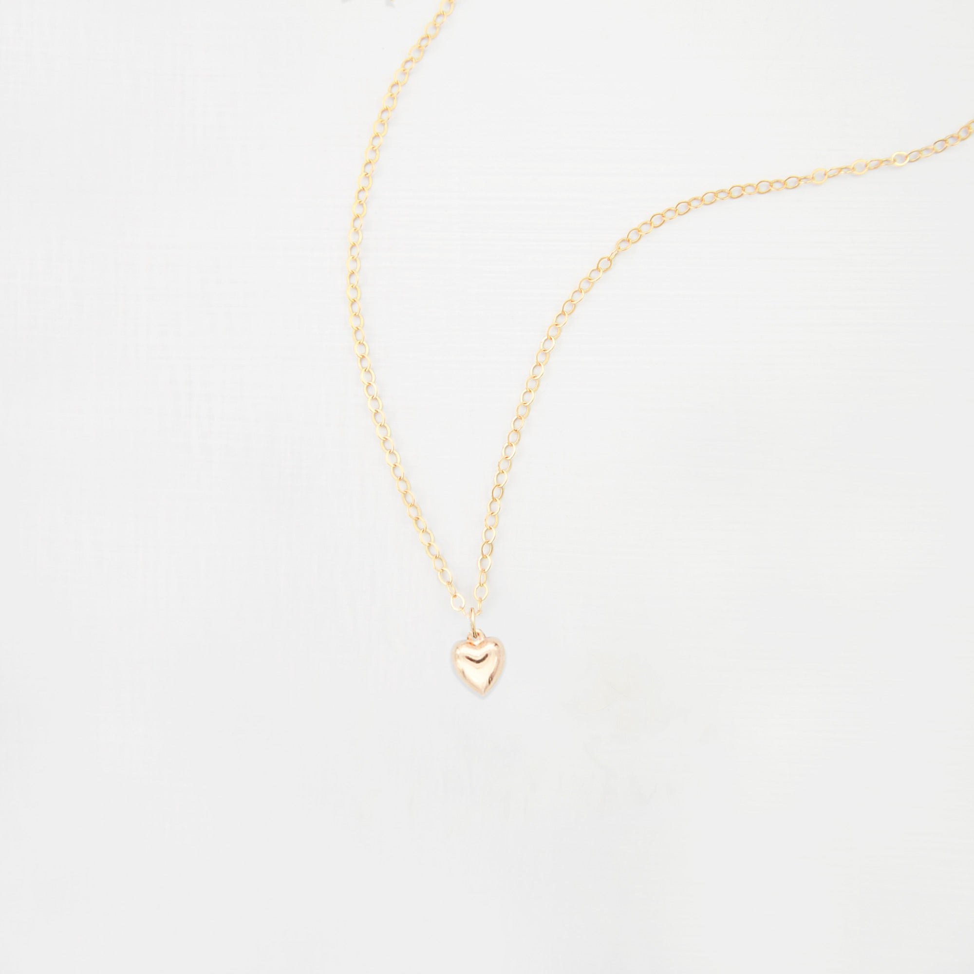 Heart charm necklace 'Ari'