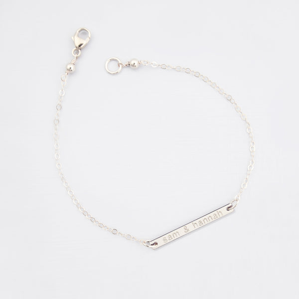 How to Care for Sterling Silver Jewellery | Personalised Bar 'Love' Bracelet 'Leonie'| Britten Anthology