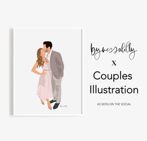 Custom Couples Illustration
