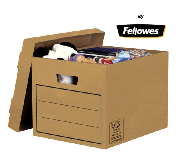 Recycled Budget Storage Box by Fellowes