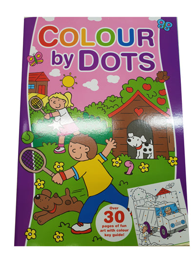 Colour by Dots Book