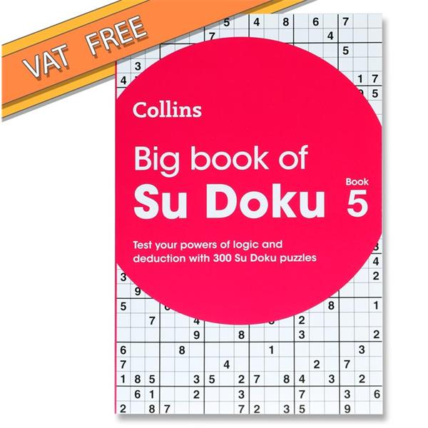 Collins Big Book Of Sudoku