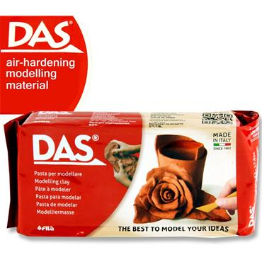 Das 1/2kg Terracotta Air Hardening Modelling Clay