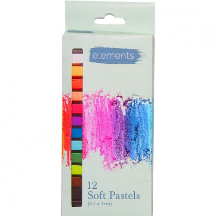 Elements Soft Pastel 12 Pack