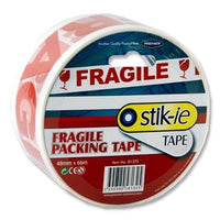 Fragile Packing Tape 48mm x 66m mallow cork