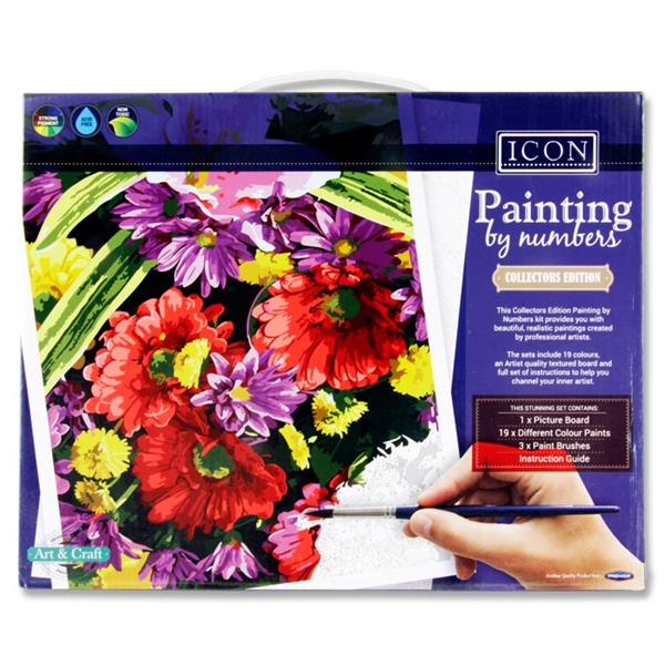 Icon Painting By Numbers - Floral