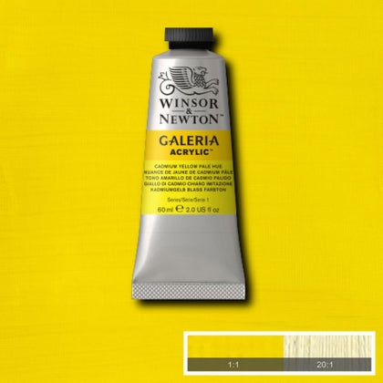 Galeria Acrylic - 60ml Cadmium Yellow Pale