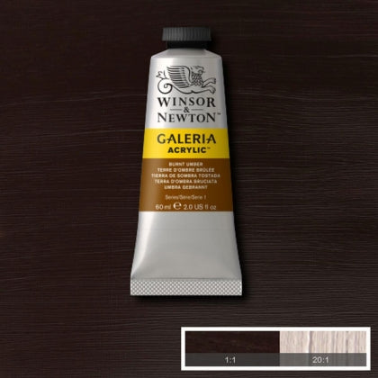 Galeria Acrylic - 60ml Burnt Umber