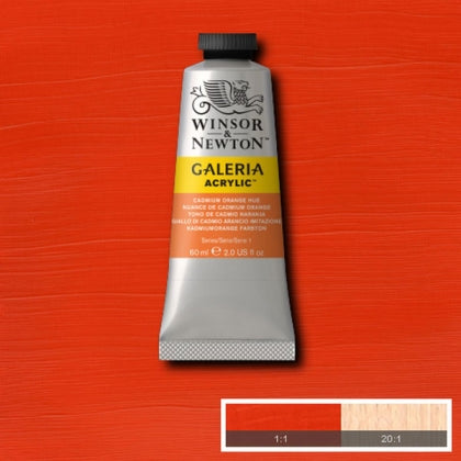 Galeria Acrylic - 60ml Cad Orange Hue