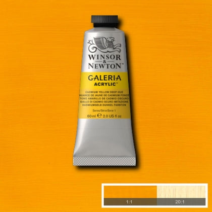Galeria Acrylic - 60ml Cad Yellow Deep
