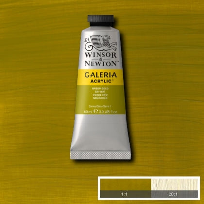 Galeria Acrylic - 60ml Green Gold