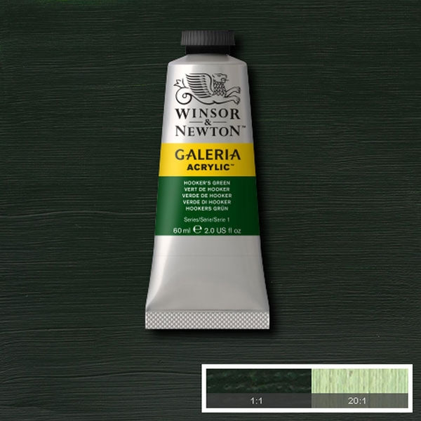 Galeria Acrylic - 60ml Hookers Green