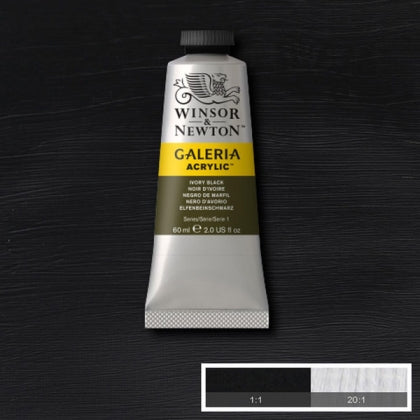Galeria Acrylic - 60ml Ivory Black