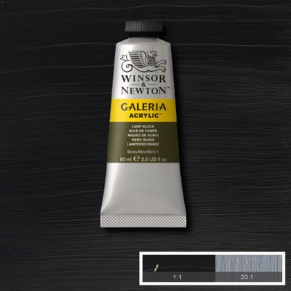 Galeria Acrylic - 60ml Lamp Black