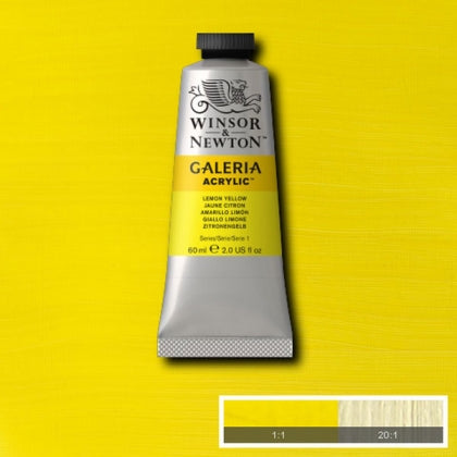 Galeria Acrylic - 60ml Lemon Yellow