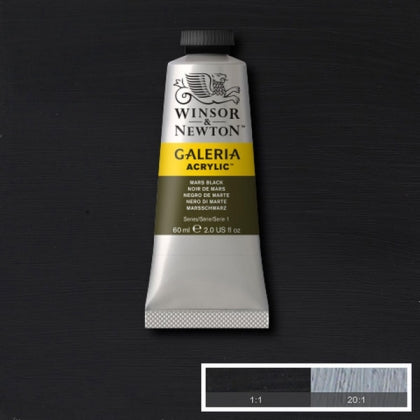 Galeria Acrylic - 60ml Mars Black