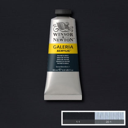 Galeria Acrylic - 60ml Paynes Grey