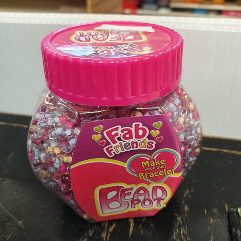 Fab Friends Bead Pot