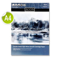 Icon A4 Sketch Pad 185gsm 40 Sheets